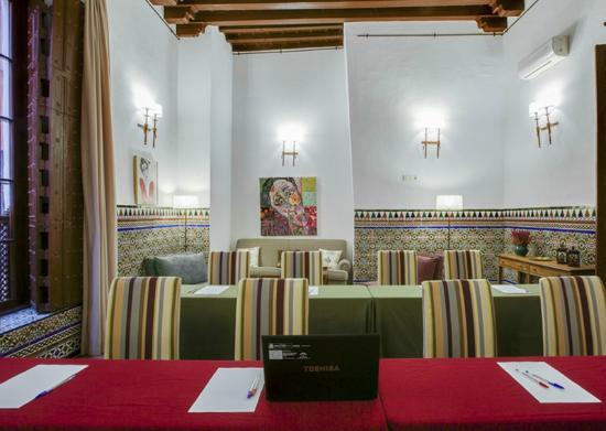 Hotel Alcantara: Sala de reuniones