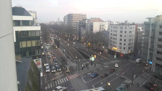Hotel Brussels : View from my room
