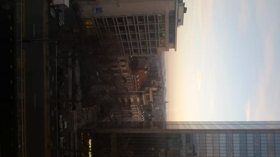 Hotel Brussels: View from my room