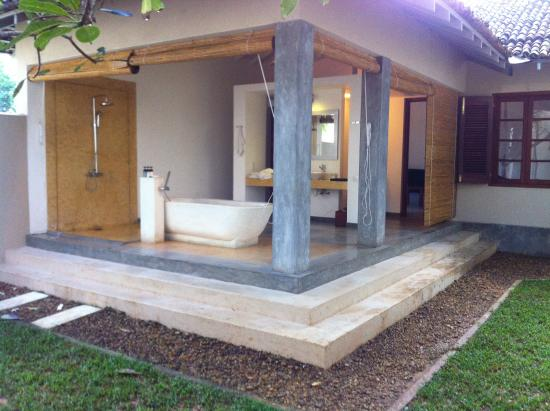 The Frangipani Tree by Edwards Collection : Outside bathroom