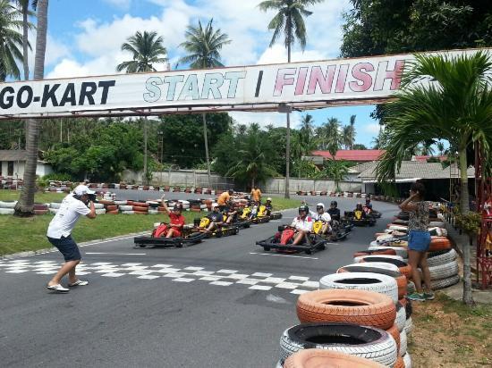 Samui Go Kart : Same compettion