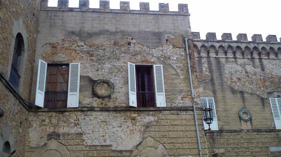 Le Celle dei Frati al Castello di Montalbano : Esterno