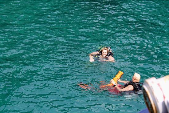 Flip Flop Divers: After the second dive