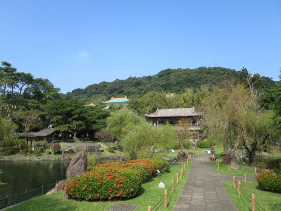 Zhishan Garden: 園内