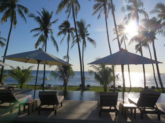 Kubu Indah Dive & Spa Resort: Pool/Strand