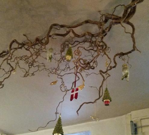 Restaurant Amalie: Juledekorasjon