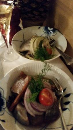 Restaurant Amalie: Julesild