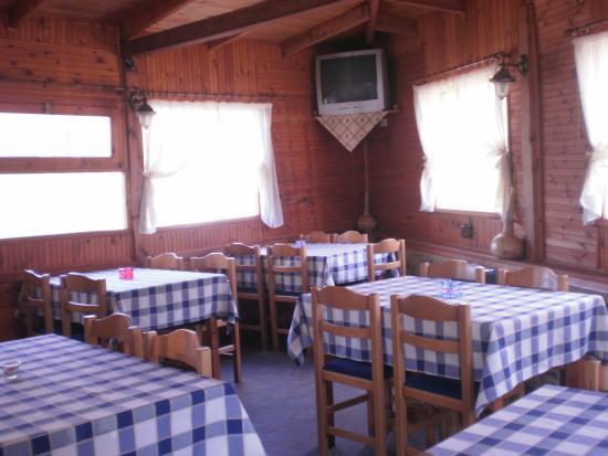 Sidirochori, Griekenland: η ξύλινη σάλα μας