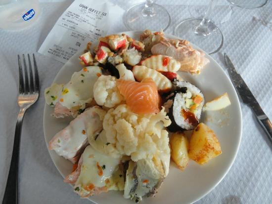 Salt, Spagna: Plato variado
