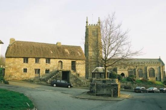 North Tawton, UK: Church House and St Andrerw's