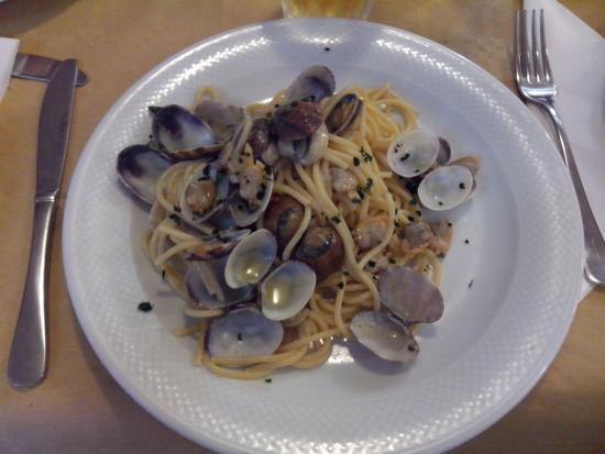 La Cariola : Spaghetti con le vongole