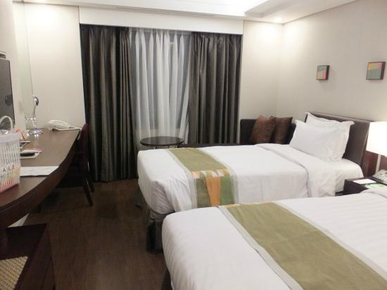 Best Western Premier Seoul Garden Hotel : ツインルーム