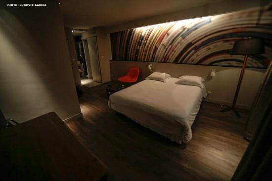 Hotel de la Presse : Vue 1 de la chambre 430
