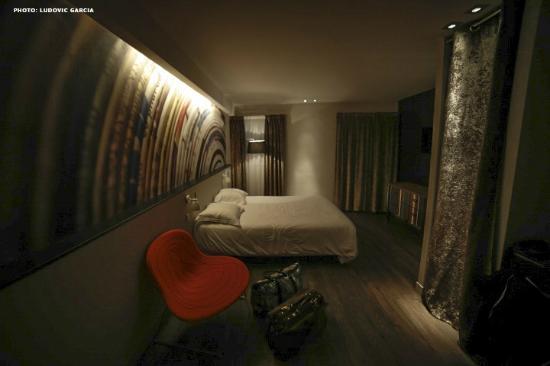 Hotel de la Presse : Vue 2 de la chambre 430