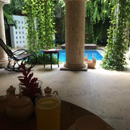 San Pedro Hotel Spa: Vista desde sector de comedores