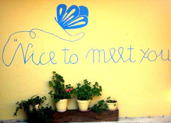nice to meet you! - Picture of Mariposa, Collecorvino - TripAdvisor