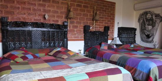 Bedroom at Hotel heritage