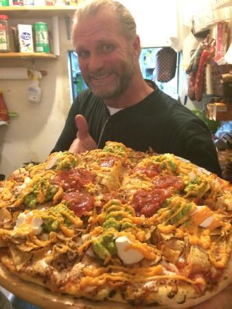 Nachos pizza!