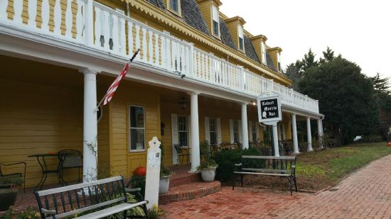 Robert Morris Inn: Great flavored food