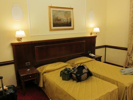 Hotel Palladium Palace : ベッドは綺麗でした