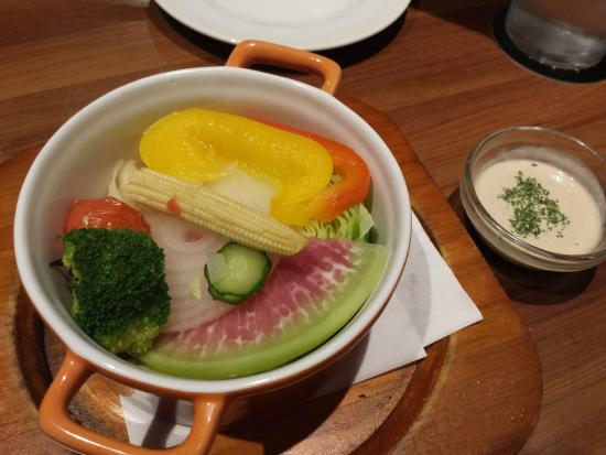 Bar de Cante Yokohama Bay Quarter: Steamed Vegetables