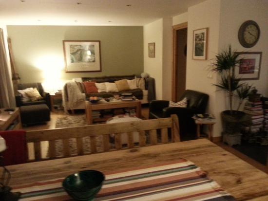The Guest House : Gemeenschappelijke kamer.