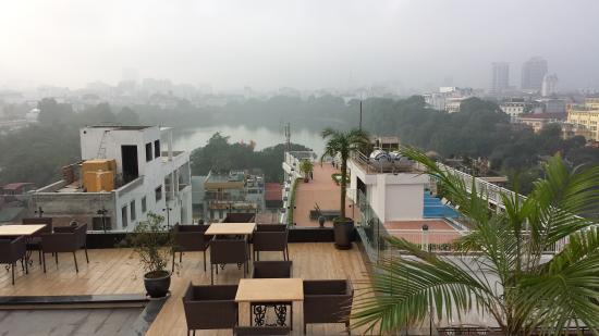 Hanoi Tirant Hotel: Prachtig uitzicht