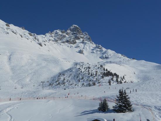 Les 3 Vallées: Dent de Burgin, Meribel
