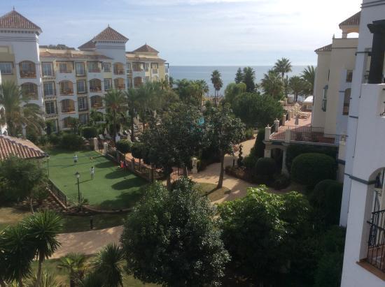 Marriott's Playa Andaluza: View east facing apt Granada block