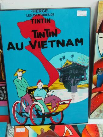 Hang Gai Street (Street of Hemp): tintin en tableau