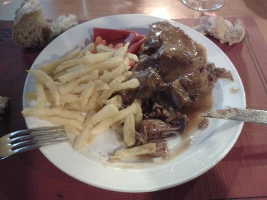 Casal Do Cabildo: El segundo plato del menú...riquísimoooo