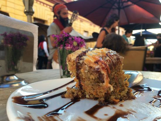 Restaurant Natura: The Carrot cake by excellence
