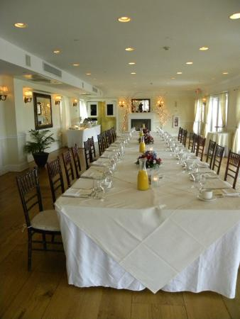 Rhinecliff, NY: Banquet Hall