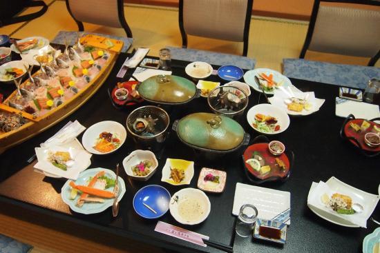 Tamanoyu: 夕飯