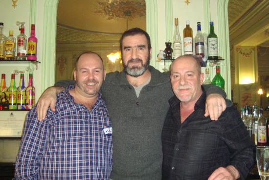 Au Petit Saint-Pierre : Monsieur Eric Cantona footballeur international et acteur