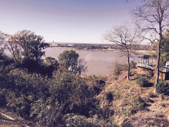 The Briars Bed and Breakfast: View from Jefferson Davis balcony