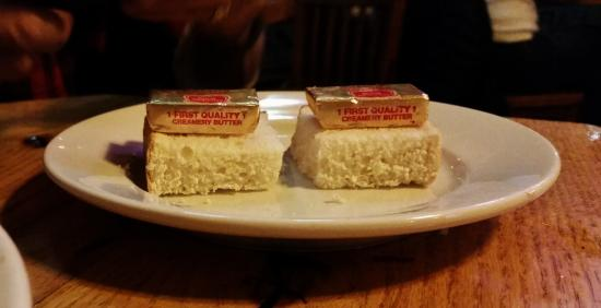 O'Brien's Pub & Grill: Asked for some type of bread for our stew.  THIS is what we received.