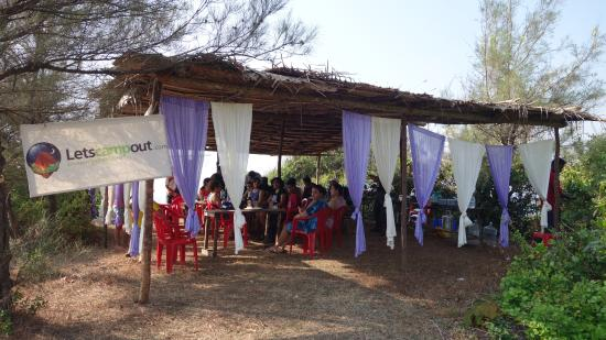 Letscampout Kashid Campgrounds : camping site