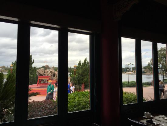 Nine Dragons Restaurant : Great views from tables