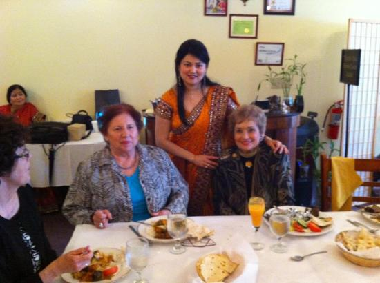 Owner Mrs.sharma with Shila klin