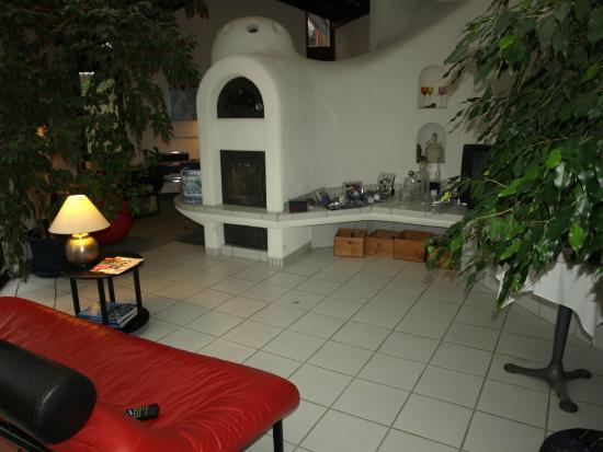 Hotel L'Auberge: Kaminzimmer