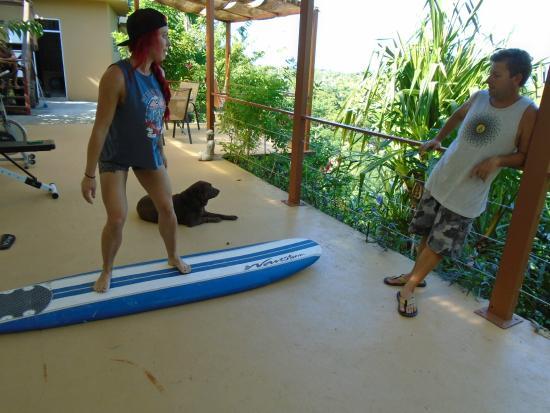 Surf 787 Guest Villa: Pre surf lessons