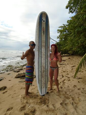 Surf 787 Guest Villa: Nego and myself