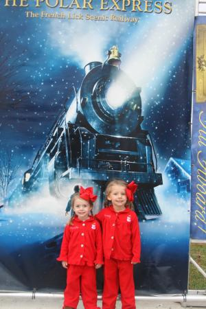 French Lick Scenic Railway: movie poster photo op