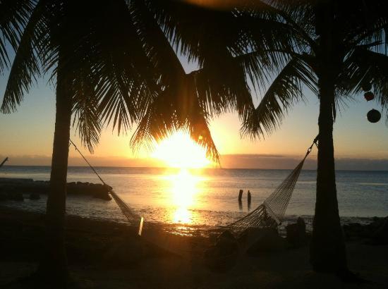 White Sands Inn: The amazing Sunrise.