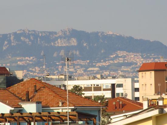 Hotel Vannucci: вид с балкона