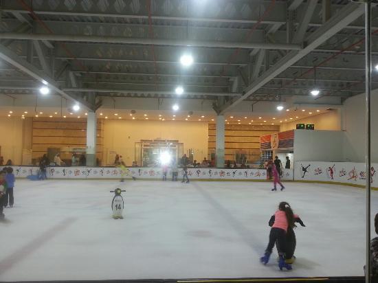 Al Shaab Village: Sharjah's largest Ice Skate Ring ♡
