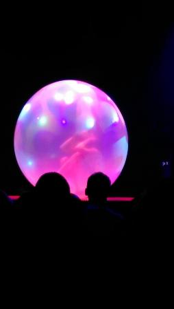 Absinthe: Almost naked lady in a giant bubble! Amazing!