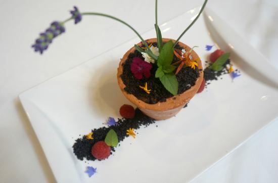 1906 at Longwood Gardens: Flower Pot Dessert