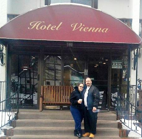 "Hotel Vienna : Checking out...Always get sad leaving our ""home away from home."""